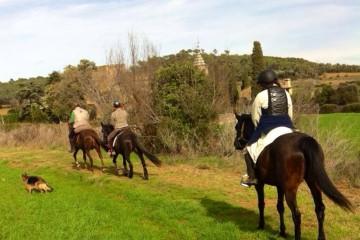riding horses in costa brava emporda